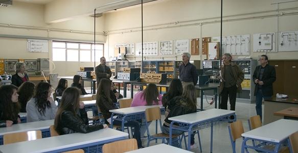 Οι μαθητές της Γ΄ τάξης του 5ου Γυμνασίου Καρδίτσας ενημερώνονται για την Επαγγελματική Εκπαίδευση