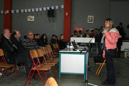 Ενημερωτική ομιλία για το AIDS